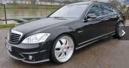 Mercedes Benz limousine s.6.3.. AMG full options