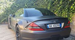 Mercedes Benz SL 55 AMG Black Series